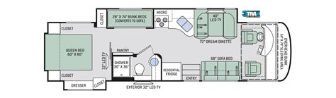 class a floor plans palazzo class a diesel motorhome diesel pusher by thor