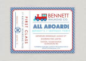 train invitations 1700 train announcements invites party