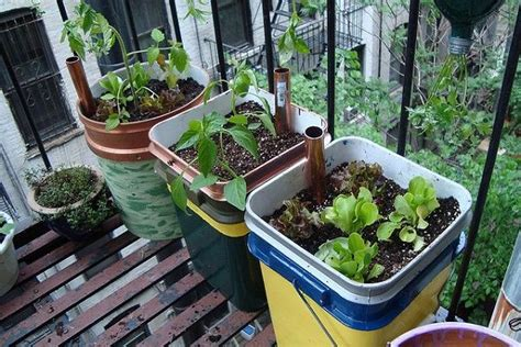 diy garden container 14 best diy self watering container garden ideas balcony