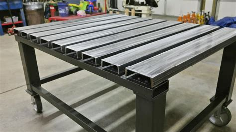 c channel top welding table