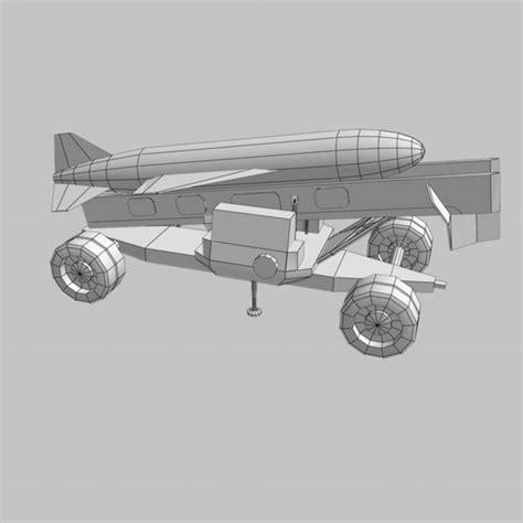 Bipod Afc By Blackraven silkworm missile launcher 3d model