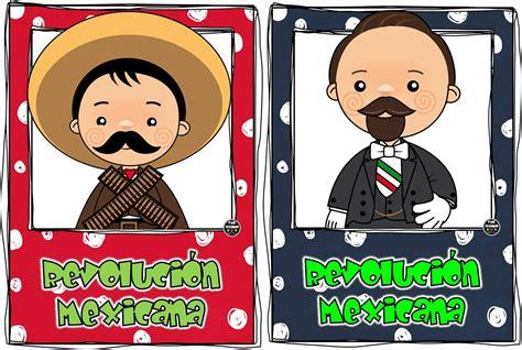 imagenes de revolucion mexicana para niños personajes del 20 de noviembre revoluci 243 n mexicana por
