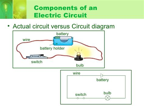actual connection diagram electricity parallel and series circuit hbl wk2
