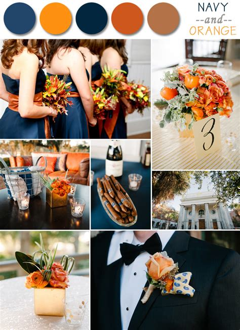 fall colors for weddings fall wedding color palette ideas 2014 trends