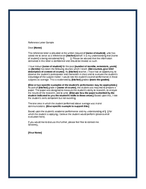 Recommendation Letter For Master Position Letters Of Recommendation Sles Best Template Collection