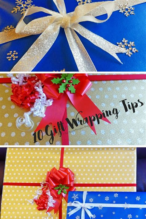 Baby Shower Gift Wrapping Techniques by 10 Gift Wrapping Tips