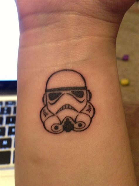 stormtrooper tattoo my new trooper got it done at sublime line