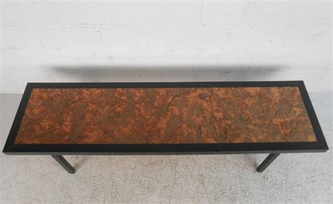 Hammered Copper Coffee Table Beautiful Mid Century Modern Hammered Copper Top Coffee Table For Sale At 1stdibs