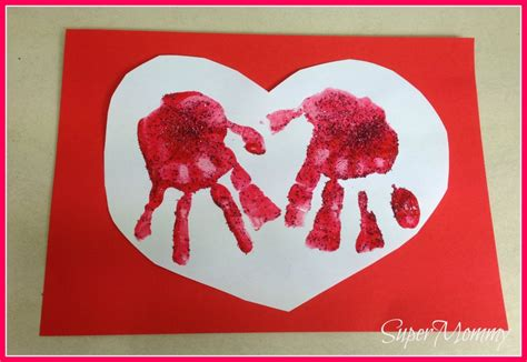 easy kid cards easy kid s s day handprint cards