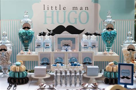 baby shower food ideas baby shower ideas mustache - Mustache Themed Baby Shower Decorations