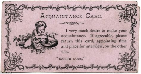 19th Century Calling Card Templates by The Flirtation Cards 19th Century Used To Woo