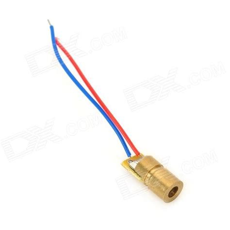 laser diode 650nm 3v 6mm 5mw 650nm laser diode golden free shipping dealextreme