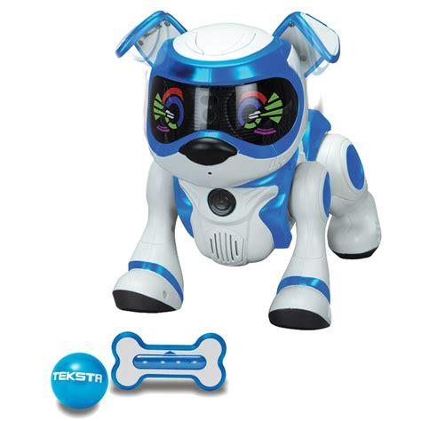 robot puppy robot chien splash toys teksta puppy 5g bleu bestofrobots