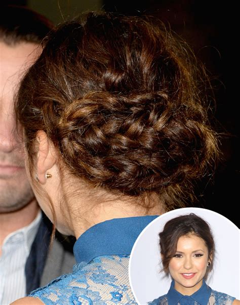 updo hairstyles nina party updos for holiday 2013 popsugar beauty