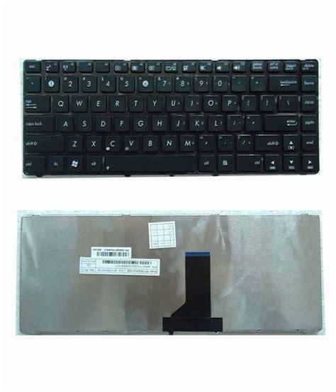fugen laptop keyboard us original look for asus a42 a43 b43 k42 k43 n43 p43
