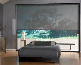 Room Darkening Wood Blinds Custom Solar Shades Motorized Solar Shades Houston The