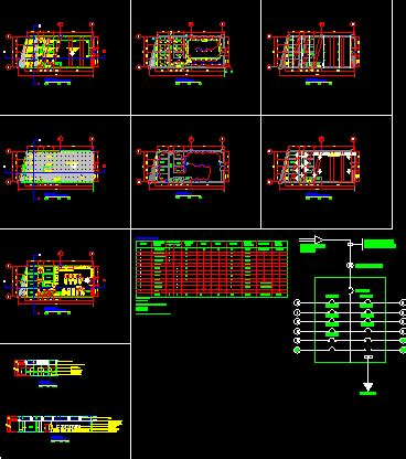 beauty salon dwg full project  autocad designs cad