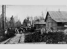 Stroll through Michigan's history in a new living history ... Logging Camp History
