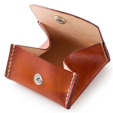 Leather Wallet Coin s s coin purse coin wallet handmade coin
