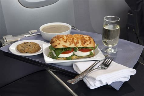 Titanic First Class Menu by United To Serve Up Improved Food On Domestic First Class