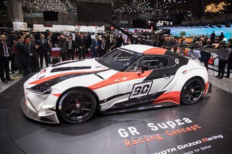 Racing Supra toyota supra returns as gazoo racing motorsport concept roadshow
