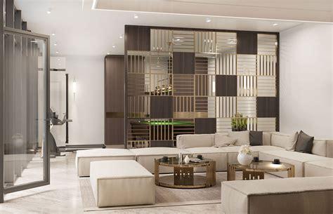 simple modern villa interior design comelite