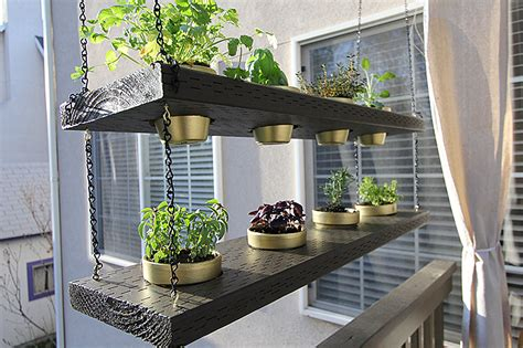 hanging herb planters diy hanging planter herb garden video withheart