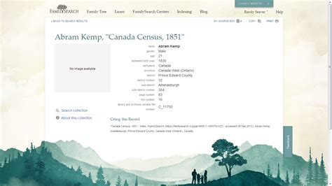 Find In Canada By Name And Age Genea Musings Canadian Census Records On Familysearch