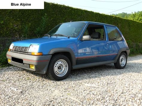 renault 5 turbo 1 how to identify a 1985 1987 renault 5 gt turbo phase 1