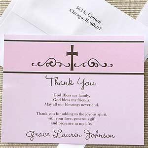 thank you card template religious religious prayer s personalized thank you note cards