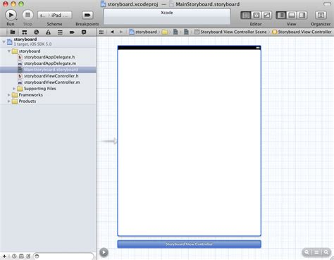 storyboard tutorial for xcode 6 using xcode storyboarding with ios 5 techotopia