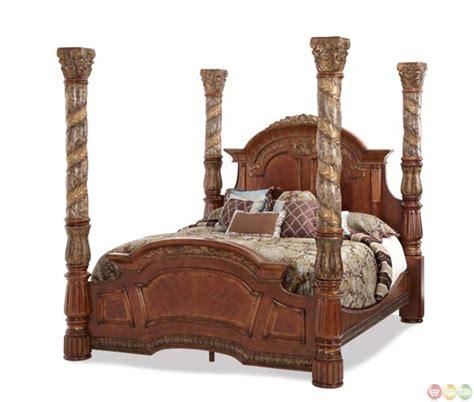 villa valencia bedroom set michael amini carved leaf villa valencia eastern king