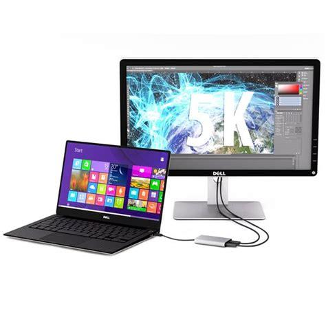 monitors with thunderbolt thunderbolt 3 to dual displayport adapter 4k 60 hz