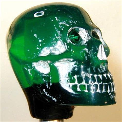 Green Skull Shift Knob by Shift Knob Green Skull