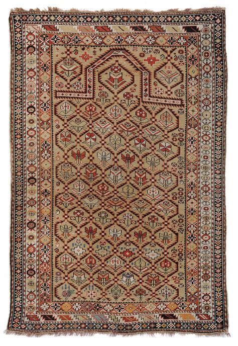 tappeto preghiera tappeto caucasico daghestan a preghiera xix secolo