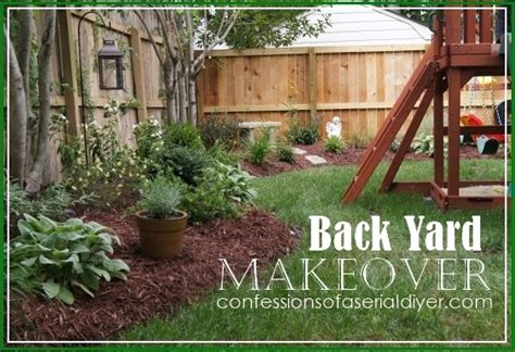 backyard borders back yard makeover confessions of a serial do it yourselfer