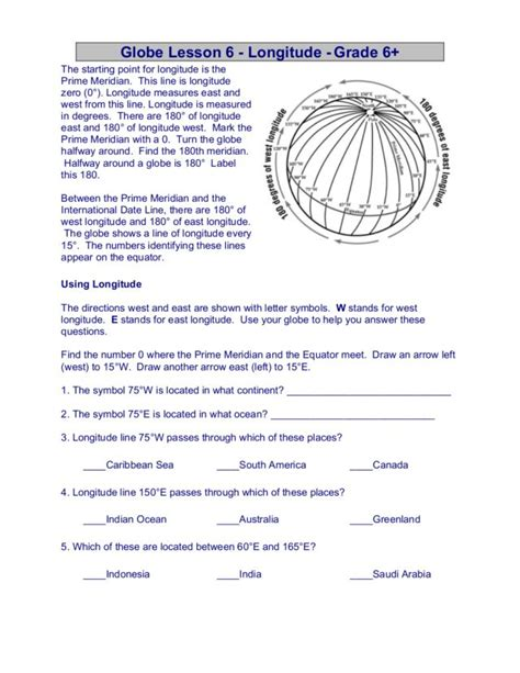 globe and maps lesson plan map and globe worksheets for kindergarten map and globe