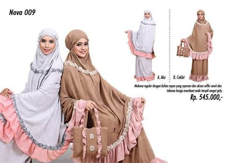 Mukena Zenitha 12 gamis muslim terbaru koleksi mukenah tatuis season 6