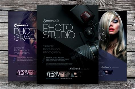 photography flyer templates psd vector eps jpg