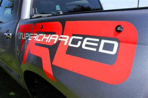 Lp Kaos T Shirt Ford Racing 2 High Quality Lp product 2 side trd tacoma supercharger graphics decals bedside vinyl