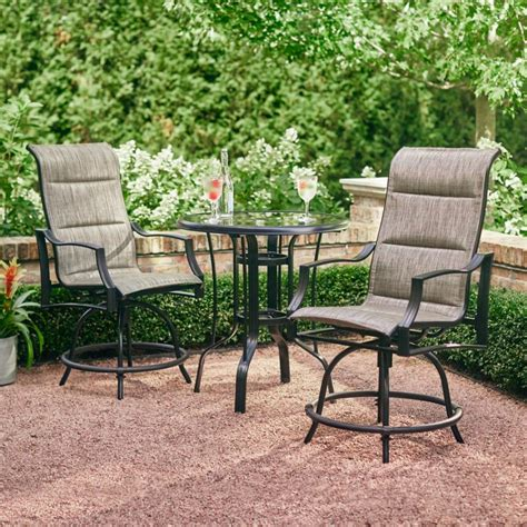 bistro armchair patio bistro chairs garden patio all weather black