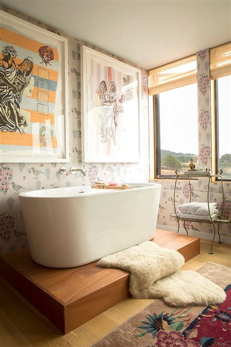 Modern Shabby Chic Bathroom by Revitalized Luxury 30 Soothing Shabby Chic Bathrooms