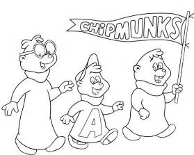 alvin chipmunks coloring pages cartoon coloringstar