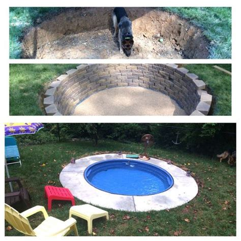 This Is Amazing How To Make Your Own Outdoors Swimming How To Make A Pool In Your Backyard