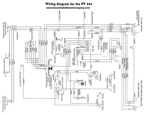 volvo pv544 wiring diagram volvo elsavadorla