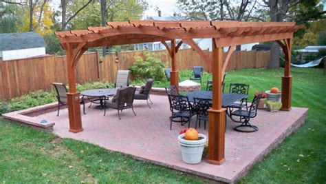 pre made pergola kits outdoor goods