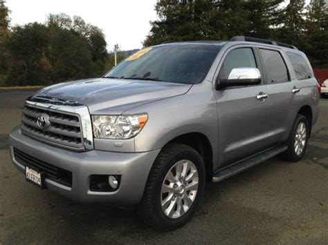 Toyota Sequoia For Sale In California Used 2010 Toyota Sequoia Platinum In Ukiah Ca At Mendo