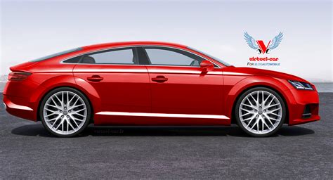 Audi Tt 2020 4 Door by Audi Tt Sportback Production Version Rendered