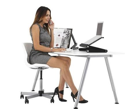 Portable Standing Laptop Desk by 360 176 Foldable Laptop Notebook Desk Table Stand Portable