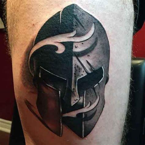50 spartan tattoo designs for men masculine warrior